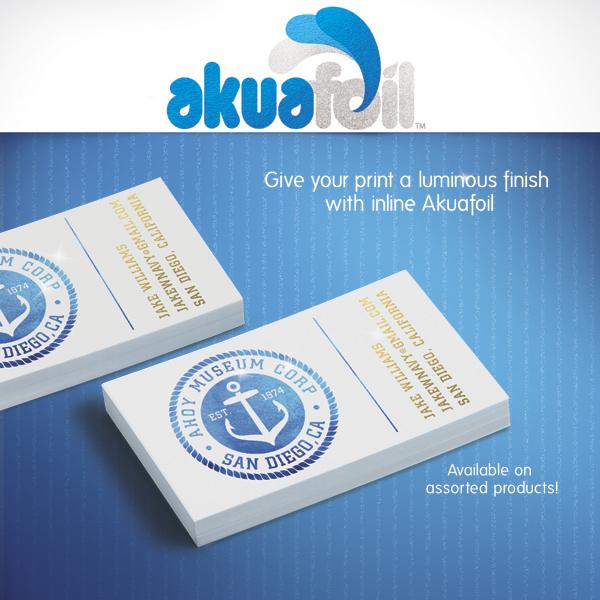 AkuafoilBusiness Cards Custom Printing