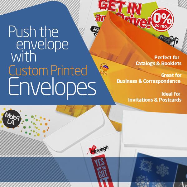 Custom Envelopes Printing Services for Business