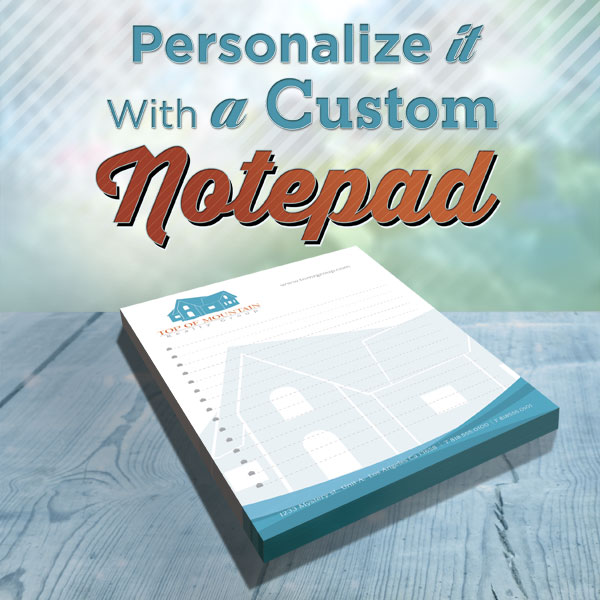 Custom Notepads DIY Printing Service