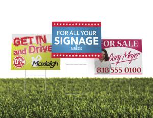 Print Custom Yard Signs