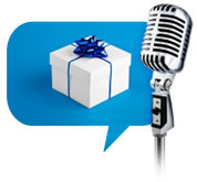 Use Voice Broadcast to announce new products and services